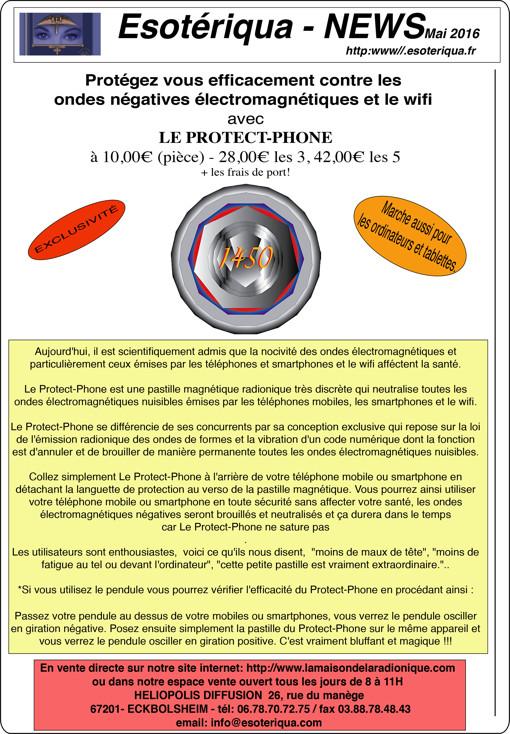 Protégé vous contre les ondes des téléphones portables