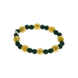 Bracelet perles de karma - Onyx