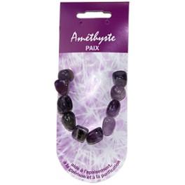 Bracelet pierre de vertu - Améthyste