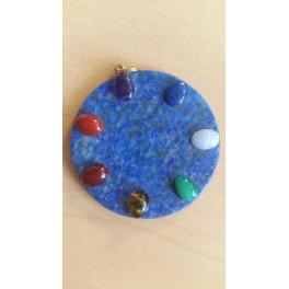 La Roue energétique en Lapis Lazuli