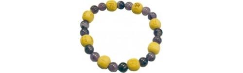 Bracelet perles de karma -