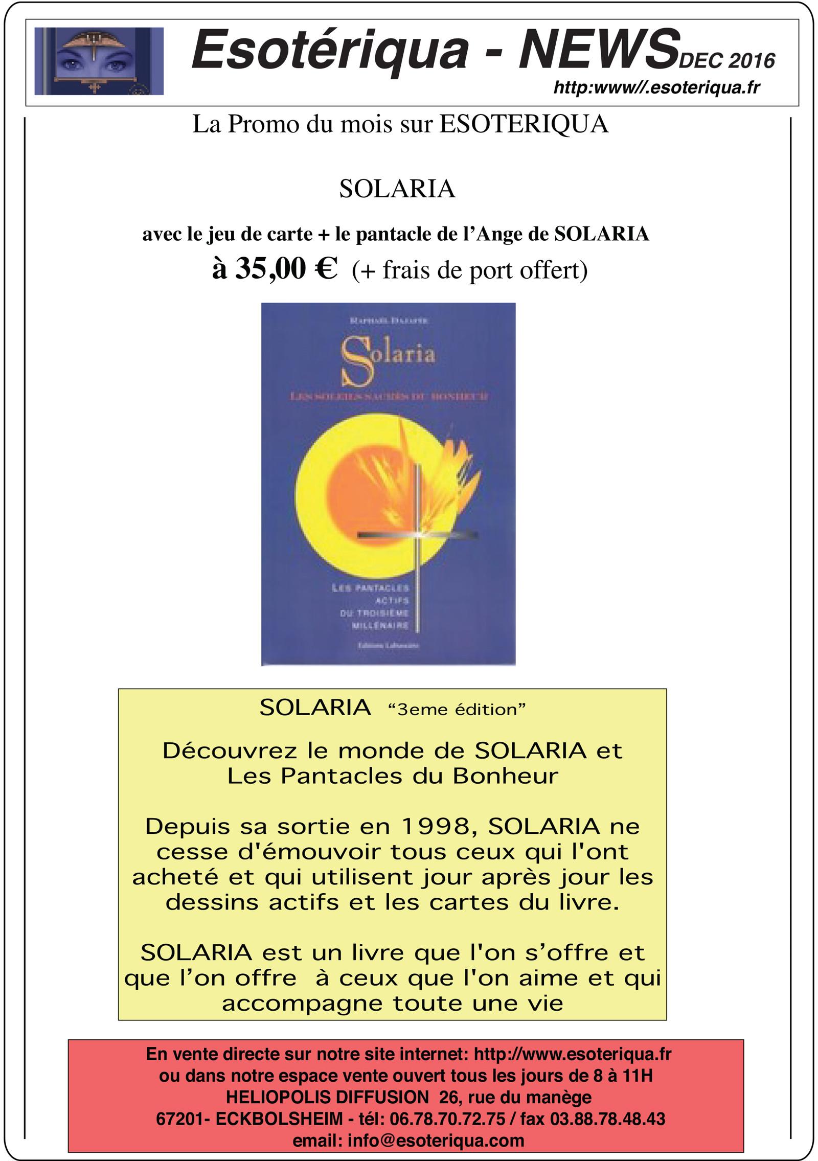 Livre Solaria
